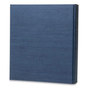 Documenten box blauw